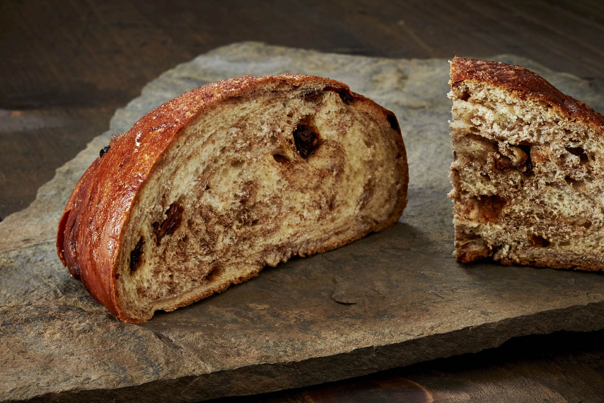 Cinnamon Raisin Bread - Crest Hill Bakery - Artisan Bread Wholesaler