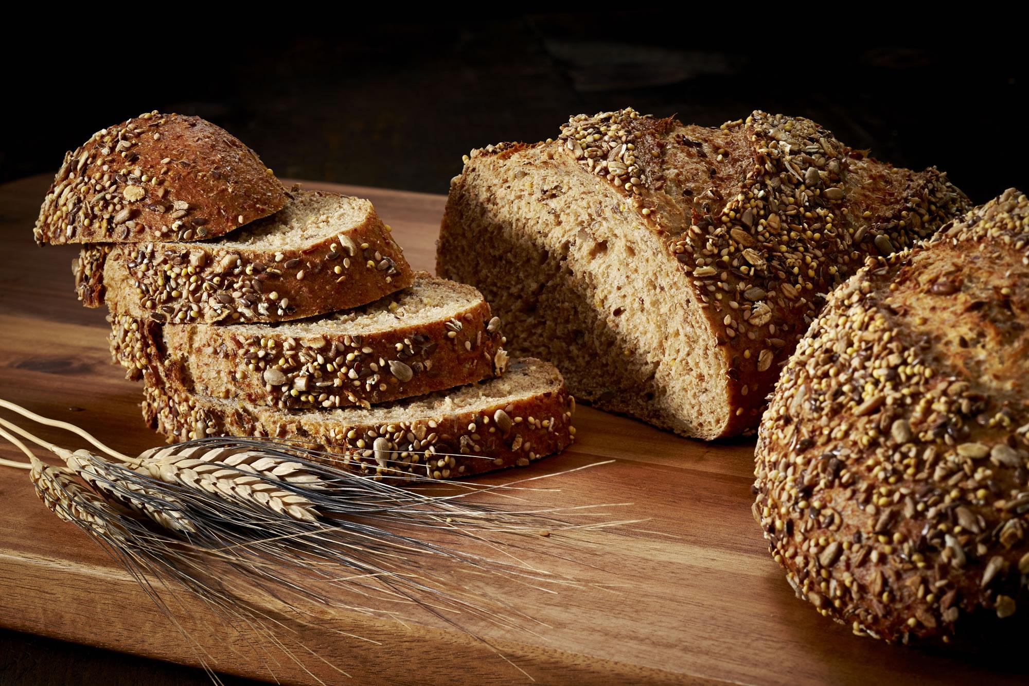 Whole Grain Multigrain Bread Crest Hill Bakery